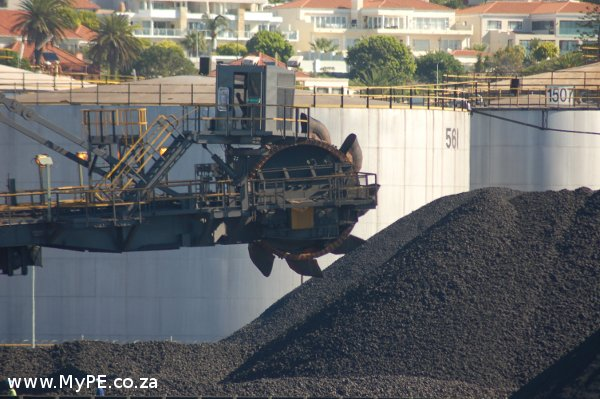 Help Transnet to Just Say NO to Manganese and rid the PE Beachfront of this.