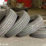 A thing of beauty forever - my four BRAND NEW Continental Tyre 245x75 R15 C's