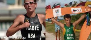 Mari Rabi and Henk de Villiers