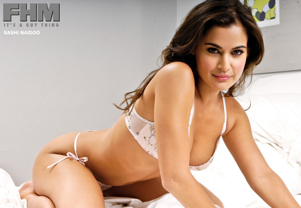 Port Elizabeth born Shashi Naidoo voted FHM sexiest woman in the world for 2011