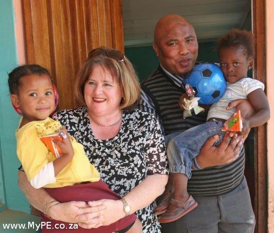 Jenni Honsbein and Mbulelo Kebe