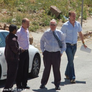 Ken Denton, Jeremy Davis and Peter Hughes