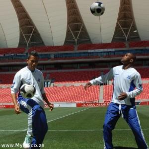 Fadlu Davids and Diyo Sibisi