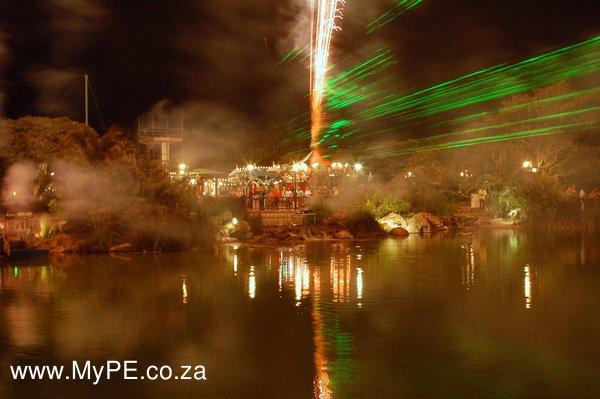 Boardwalk Laser & pyro spectacular