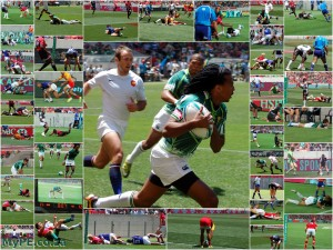 2012 Collage of Sevens Tries in Port Elizabeth