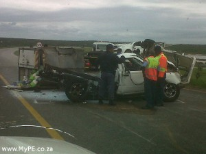 Coega Accident 1 Ton Bakkie