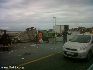 Coega Accident Horse Trailer