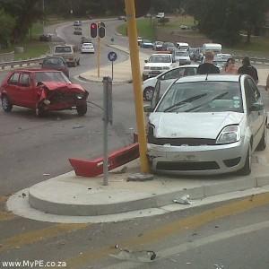 Circular Drive Accident 7 February 2012