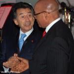 Captian Sarno and Jacob Zuma