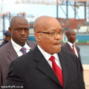 Jacob Zuma Quayside
