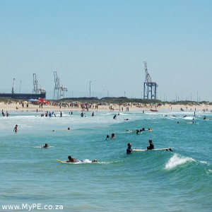 Kings Beach Port Elizabeth on 26 February 2012