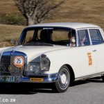Colin and Anne Meyer 1967 Merc 230S