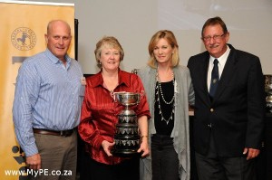 Conti Milligan winners 2012 - Colin and Anne Meyer