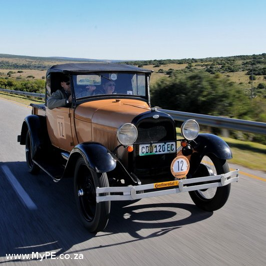 Neville and Susan Koch 1928 Ford Model A