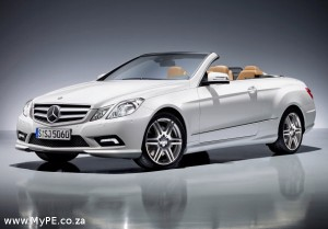 E500 E Class Cabriolet from Mercedes Benz