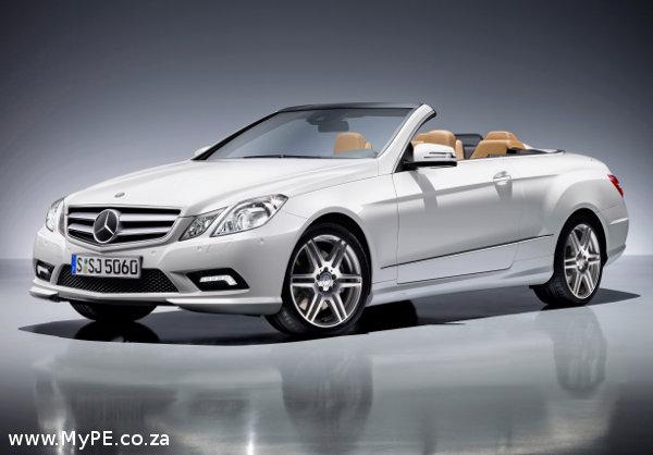 E500 E Class Cabriolet from Mercedes Benz
