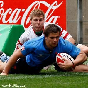 Rohan Jansen van Rensburg of the Blue Bulls