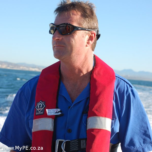 Ian Gray, NSRI Port Elizabeth Station Commander