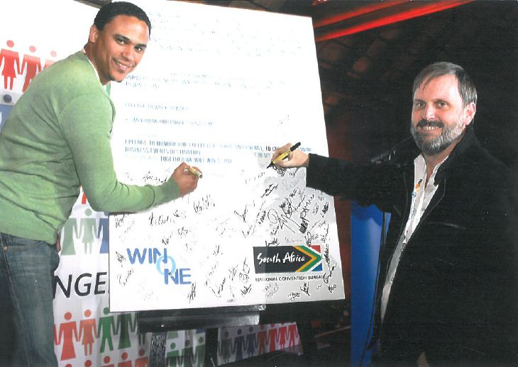 Magnetic Storm partners, Liam Prince and Glenn van Eck, commit to support Business Tourism in SA