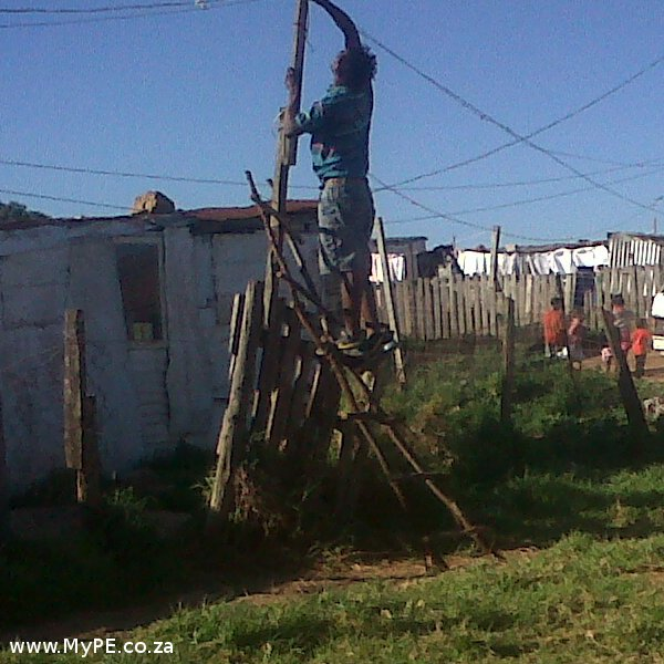 Bethelsdorp Illegal Electricity Connections