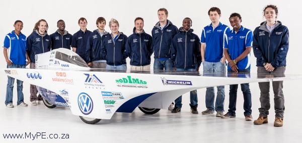 VWSA-NMMU Solar Car Team