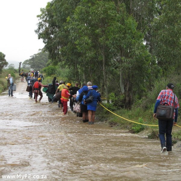 76 people evacuated from flooded swartkops waters. Black Bedroom Furniture Sets. Home Design Ideas