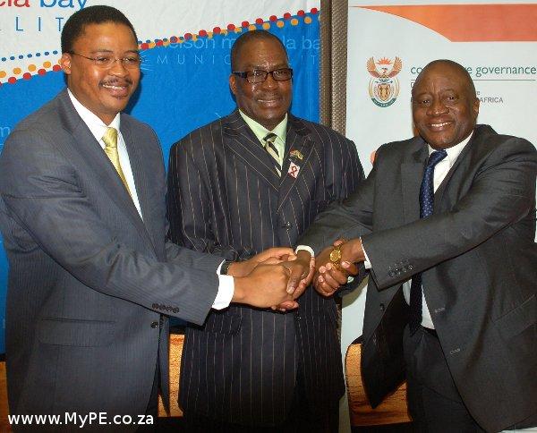 Mlibo Qoboshiyane, Zanoxolo Wayile and Vincent Maphai