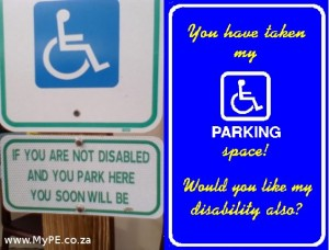 Disabled Parking Warnings