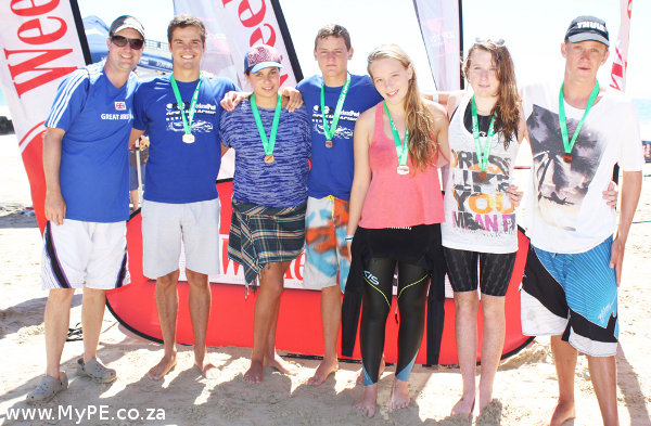 Dis-Chem 1km Ocean Swim winners