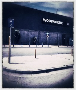 Woolworths Disabled Parking