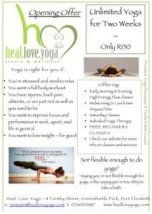 Heal Love Yoga