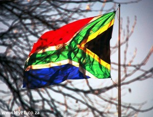 Beautiful South Africa Flag
