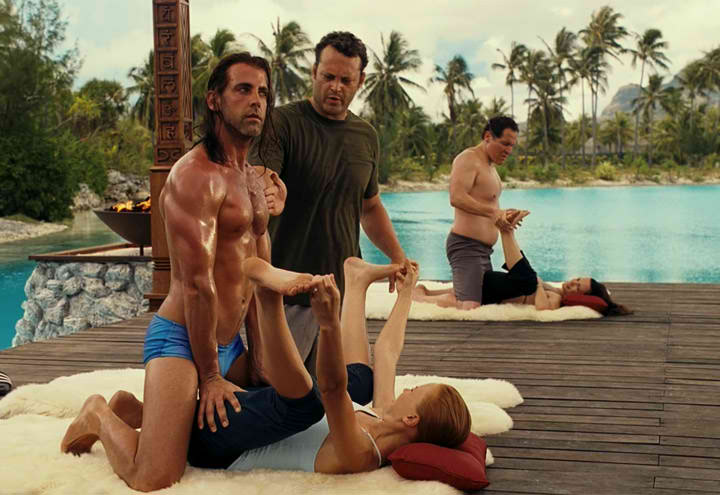 Yoga Scene From The Movie Couples Retreat