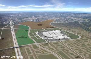 Baywest Mall Aerial