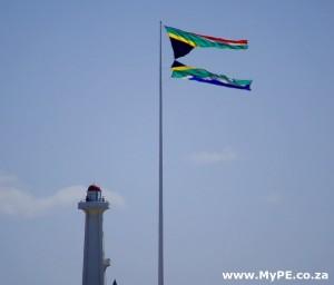 Donkin Reserve SA Flag