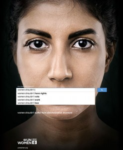 What Women Cannot. Photo: Gute Werbung/UN Women Campaign by Memac Ogilvy & Mather Dubai
