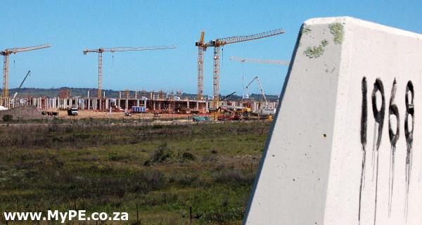 Baywest Mall Construction