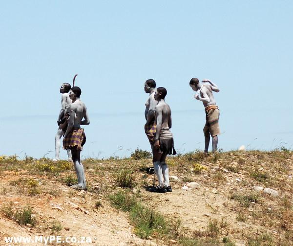 Port Elizabeth initiates Circumcision Xhosa