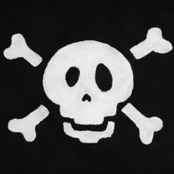 Pirates Skull and Crossbones