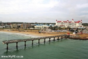 Boardwalk Hotel and Shark Rock Pier