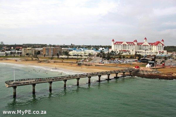 Boardwalk Hotel and Shark Rock Pier