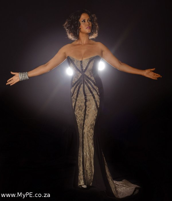 Port Elizabeth Born Belinda Davids As Whitney Houston