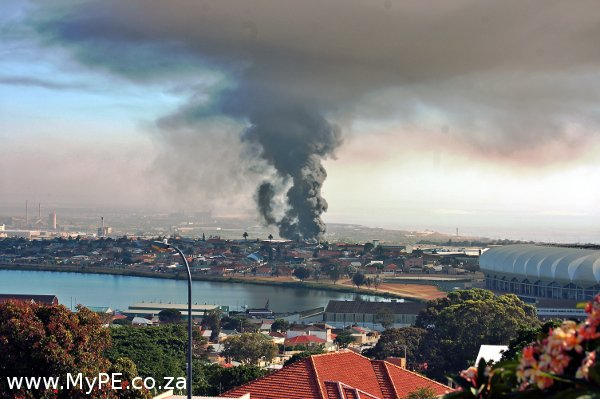 Massive north end port elizabeth fire - What is the weather in port elizabeth ...