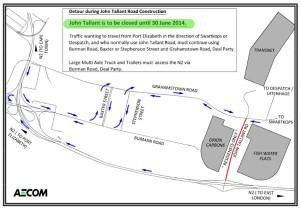 John Tallant Road Closure