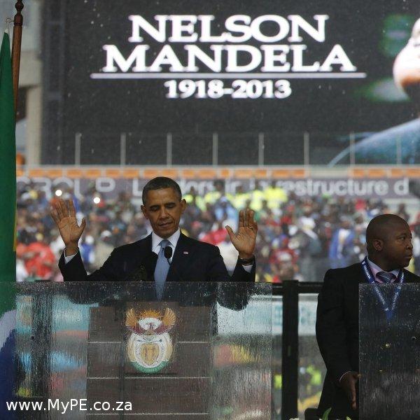 Mandela Memorial Obama