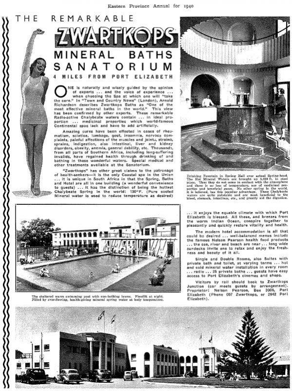 Zwartkops Mineral Baths Sanatorium