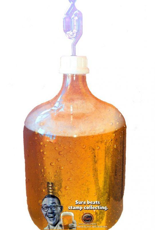 Glass Bottle Beer Fermenter
