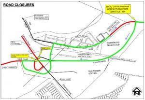 Grahamstown Road Road Closure