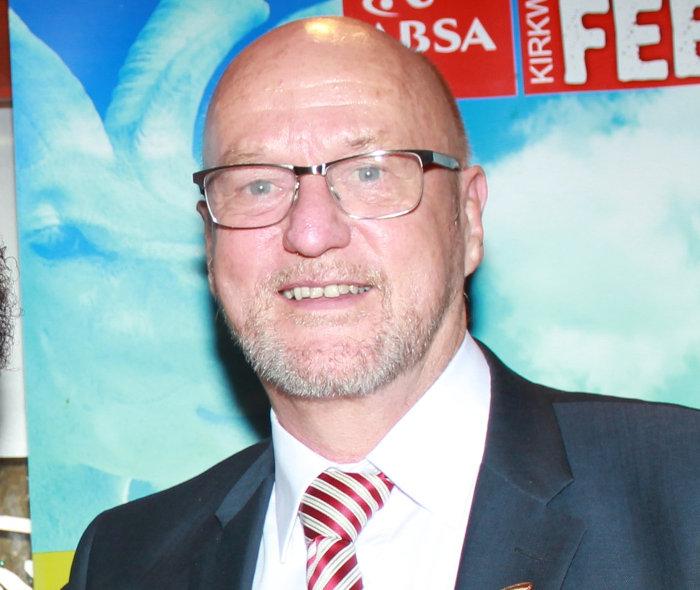 South African minister of tourism Derek Hanekom