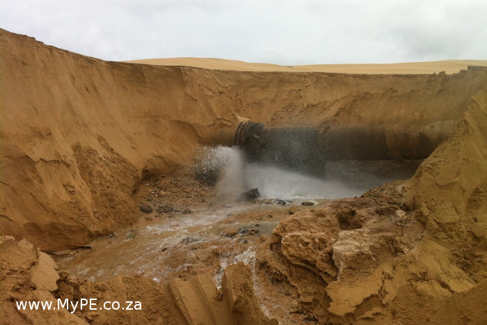 NMB Burst Water Pipe